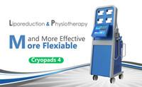 Sıcak satış güvenli ve etkili cryopad yağ makinesini donma vücut zayıflama ve fizyoterapi için şok dalgası ekipman cryolipolysis
