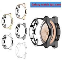 Caso de marco de Samsung Galaxy S3 engranaje del reloj S4 42mm 46mm TPU All-Around cubierta protectora del caso de Shell parachoques alrededor de los bordes