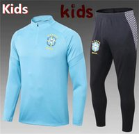 TOP quality 2018 2019 Brazil P. COUTINHO KIDS training suit 2...