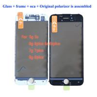 iPhone5 5S 6プラス6Sプラスフロントガラスのための外部ガラスレンズの取り替えiPhone 7 7plus 8 8プラスタッチパネル