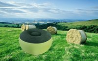 Inflatable Couch Bean Bag Air Cube Chair Relaxing Camping Ou...