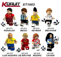 Série de football Figurines Briques Building Blocks