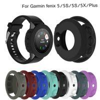 Смарт часы браслет браслет Protector Shell для Fenix 5x 5S 5 Plus Силиконовый защитный чехол чехол для Garmin Fenix 5 / 5S / 5X