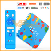 H96 Mini 6 K Inteligente TV CAIXA Android 9.0 4 GB de RAM 128 GB 32 GB ROM Allwinner H6 Quad Núcleo USB3.0 2.4G Wifi Youtube TVBox Media Player