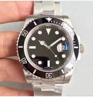 Orologi di lusso 8 Style Ceramic Bezel 40mm 116610 114060 116613 116618 116619 Ceramica di alta qualità Asia 2813 Movimento Automatic Mens Watch