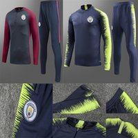 2019 Manchester soccer training suit long sleeve Aymeric Lap...