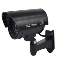KCT مقاوم للماء كاميرا وهمية الدوائر التلفزيونية المغلقة مع الصمام اللمعان لفي الهواء الطلق أو داخلي واقعية تبحث كاميرا وهمية للأمن