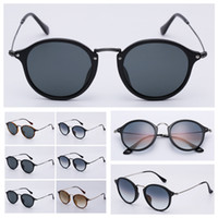 Womens Mode Sonnenbrille Runde Herren Sonnenbrillen des Lunettes de Soleil mit originalem Ledertasche, Zubehör, Box usw