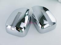 도요타 랜드 크루저 100 개 LC100 렉서스 LX470 1998에서 2007 사이 도어 미러 커버 오버레이 LED 램프 크롬 자동차 스타일링 액세서리