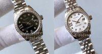 Ladys Relógios Automáticos Diamante Feminino Bezel Tw Fábrica Ladys Assista aos Homens ETA 2671 Movimento 279384 279174 Steel Senhoras Data relógios de pulso