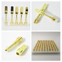Golden TH205 1ML Vape Cartridges Ceramic Coil Vape Pens Pyre...