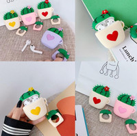12 DHL new Loving Cactus Headphone Cover Silicone protective...