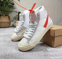 2019 new Mid All Hallows Eve Grim Reepers sneakers pastel vanilla black - all orange high quality 10X sports running outdoor shoes