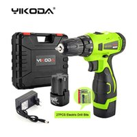 YIKODA 16. 8V Electric Drill Rechargeable Screwdriver Lithium...