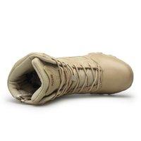 Zip zapatos de excursión la caza de la venta caliente-Men \ 's ejército táctico militar cargadores al aire libre a prueba de agua lateral (tamaño: 39-47) 11 12 13
