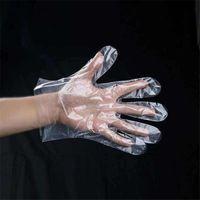 Mutfak Pişirme, temizleme, Gıda Mutfak Aksesuarları JK2003 Handling için 100Pcs / Çanta Plastik Tek kullanımlık eldiven Gıda Hazırlık Eldiven
