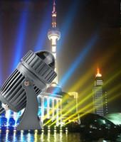 Dar işın Led Duvar yıkama lambası 10 W RGB ışıklandırmalı açık peyzaj aydınlatma AC85-265V su geçirmez spotlight Doğrusal Işık LLFA