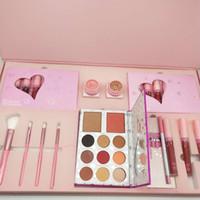 В наличии! Горячий макияж набор коллекции Gloss Highlighter помада для теней для теней для теней для теней для теней