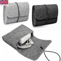 Felt Sleeve Bag Pouch for CHARGER   MOUSE Power Adapter Case...