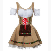 مثير مهرجان أكتوبر البيرة فتاة حلي خادمة بغي ألمانيا البافارية قصيرة الأكمام تنكرية dirndl للنساء الكبار