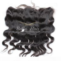 8- 20inch Lace Frontal Closure Brazilian Body Wave Human Hair...