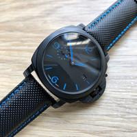 Uomo orologi PAM inossidabile 316L 46 millimetri giapponese Movimento Meccanico Uomo automatico Orologi da polso wristwatches1 speciale