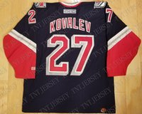 Cheap custom Alex Kovalev Vintage New York Rangers CCM Third...