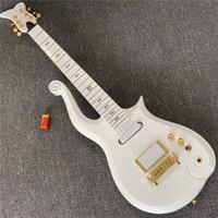 شحن مجاني الأمير سحابة الغيتار الكهربائي، القيقب الأصابع الرقبة مع غيتار كهربائي الجسم