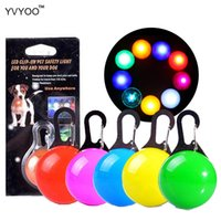 YVYOO Pet Dog LED glowing pendant necklace Safety puppy Cat ...