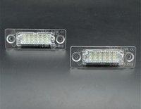 عدد 2PCS لوحة ترخيص ضوء مصباح 18-LED لVW / العلبة / الناقل / باسات / الغولف / توران / جيتا لسكودا لا خطأ