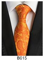 Heißen Verkauf Mens Krawatte Polyester Krawatte Cashewnuss Blume 18 Farbmuster klassische kommerzielle Freizeit Dual-Use-Qualitätsmarke beschränkt Förderung