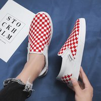 İlkbahar ve yaz erkek kanvas ayakkabılar renk eşleştirme bir pedal tembel tahta nefes rahat gelgit Kore versiyonu
