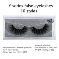 10style without logo Mink eyelash False Eyelashes Natural Lo...