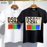 2020 SS New Arrival Top Quality D2 Clothing Men' s T- Shi...