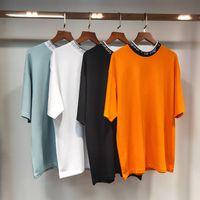 2021 Designer AC Studios Sommermarke Neue Mode Frauen T Shirts Baumwolle Chiara Ferragni Pailletten Akne-Stil Männer T-Shirts Sterne