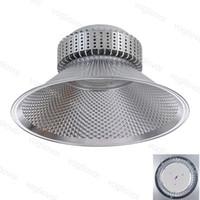 High Bay Lights 85 ~ 265V SMD2835 100W 150W 200W Industriebeleuchtung 120 ° Abdeckung Aluminiumkühler Lagerhaus Werkstatt DHL