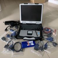Ferramenta do scanner NEXIQ Link USB 125032 Auto caminhão resistente com laptop CF30 Toque em Computador Cabos Completos