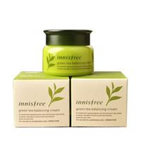 2019 Innisfree Chá Verde Balanceamento Creme Hidratante Cuidados Com A Pele Creme Cuidados Com A Pele Loção 50 ml frete grátis