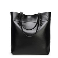 Brand Women Leather Casual Tote Bag Big Capacity Handbag For...
