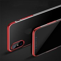 For iphone xs xr phone case Three- section electroplating mob...