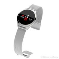 Y7 الذكية ووتش الصلب m7 ضغط الدم القلب رصد معدل عداد الخطى بلوتوث عن smartwatch البدنية المقتفي ل ios الروبوت