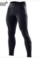 2019 الجديدة 2XU الرجال ضغط سروال الجوارب مطاطا سروال اليوغا لياقة الجمنازيوم الرياضة تشغيل X المطبوعة اللياقة البدنية عارضة السراويل تمتد