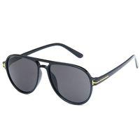 Erkekler Kadınlar Lüks Sunglases Trendy Ladies Sunglass Moda Retro Güneş Gözlük Unisex Büyük Boy Tasarımcı Güneş 5K1D23 İçin Güneş Gözlüğü