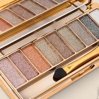 전문 아이 섀도우 Maquillage 9 색 다이아몬드 밝은 메이크업 아이 섀도우 알몸의 연기가 많은 팔레트 메이크업 무료 DHL 배송