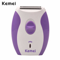 Shavers elétricos Kemeei mulheres barbeador barbear trimmer recarregável braço perna bikini axil de cabelo máquina de barbear cuidados pessoais