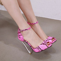 Cute2019 Serpentine Annual 35-42 Will Code Sandals Woman Fine Super High con zapatos de mujer Hasp