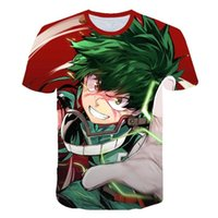 Boku No Hero T-Shirt My Hero Academia in Männer-T-Shirt Alle Might 3D-Druck-shirts Cosplay NUOVO Anime kurze Hülsen-beiläufiges Top