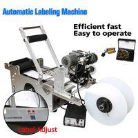 Machines d'étiquette d'impression semi-50D semi-50D Médecine Cosmétique Flacon en plastique Étiquetage Sticker Machine Distributeur Date avec codeur