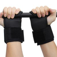 Adjustable Fitness Wrist Support Weight Lifting Hooks Sport ...