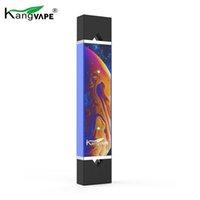 Tensão Pré-aqueça o Sistema Vape VV Variável autêntica Kangvape D-Pod V1 V2 Starter Kit 400mAh bateria para cerâmica Pod Cartridge 100% Original